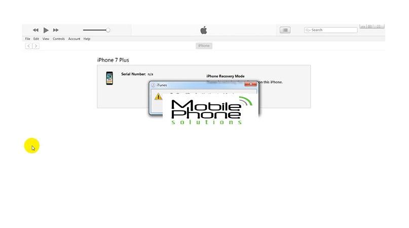 Fix iTunes Error 4013 on iPhone 7/7 Plus, Iphone Repair Auckland